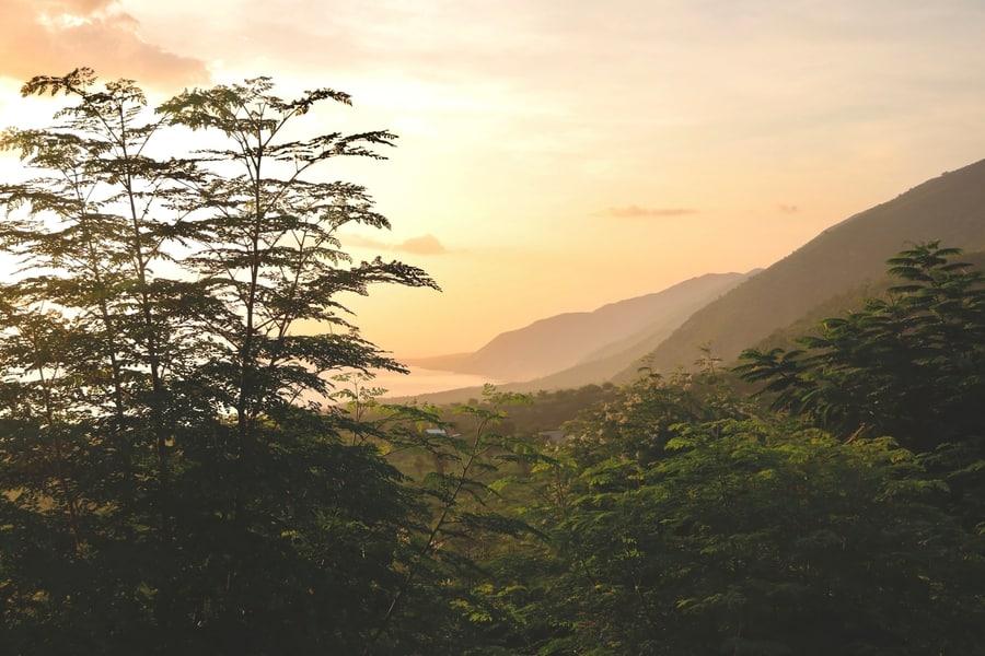 Haiti, places in the Caribbean