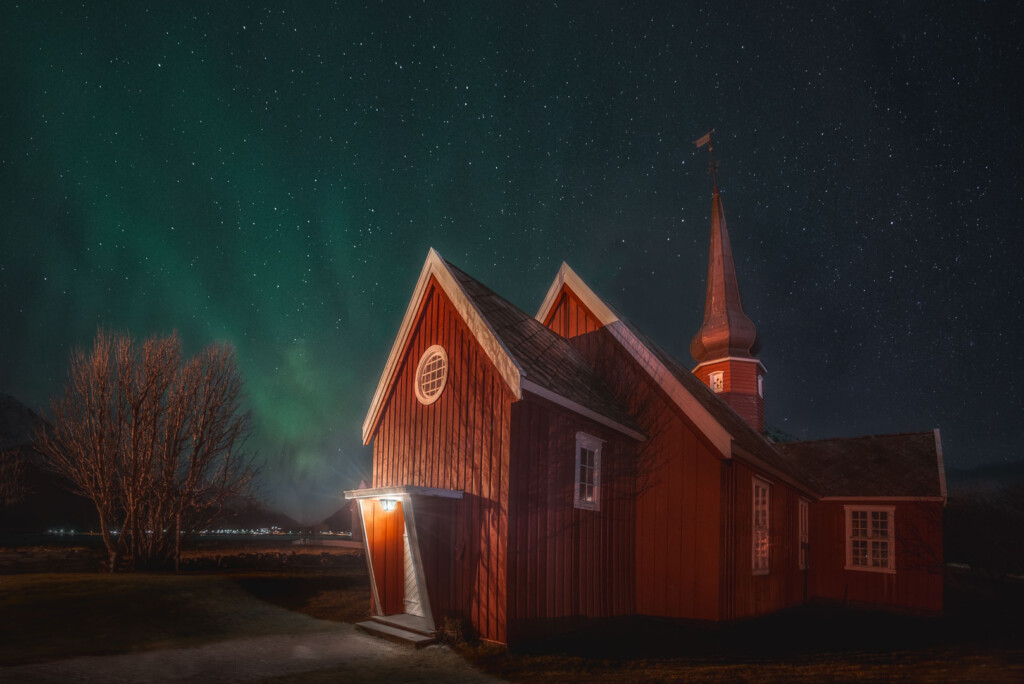 Flakstad Church, Islas Lofoten