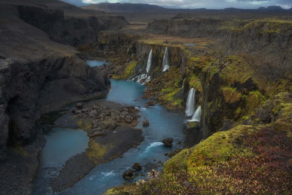 Sigöldugljúfur Canyon, Iceland