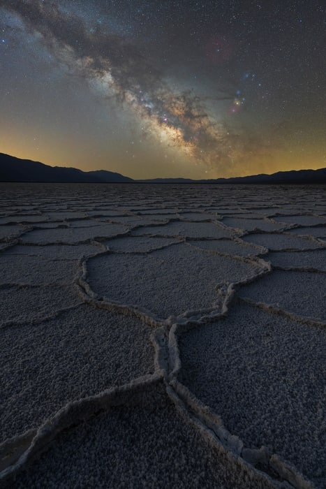 Mejores parámetros para fotografiar la Vía Láctea