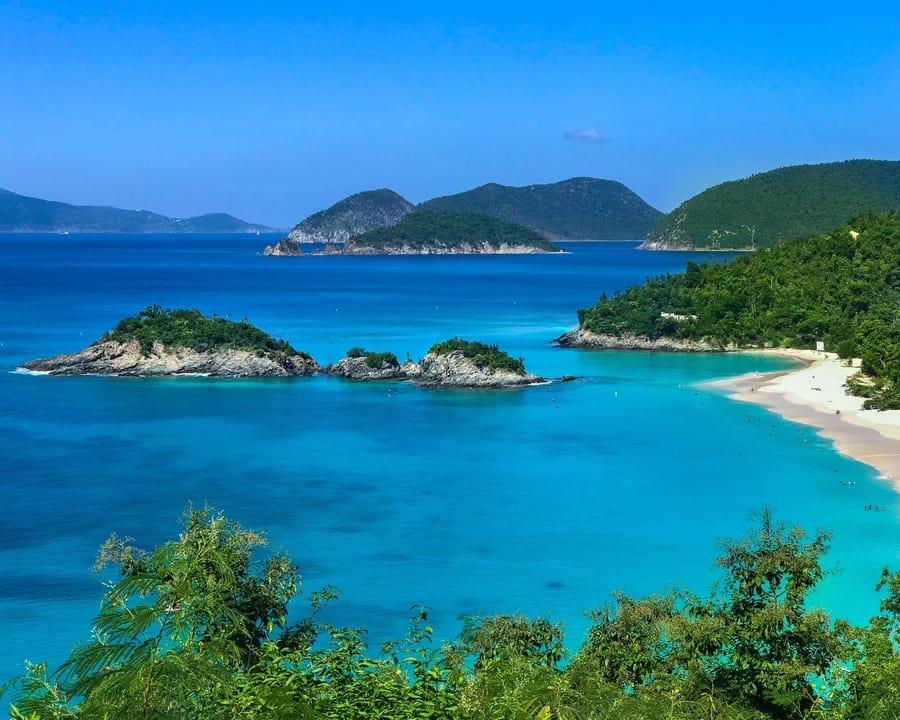 U.S. Virgin Islands, the best Caribbean islands to visit