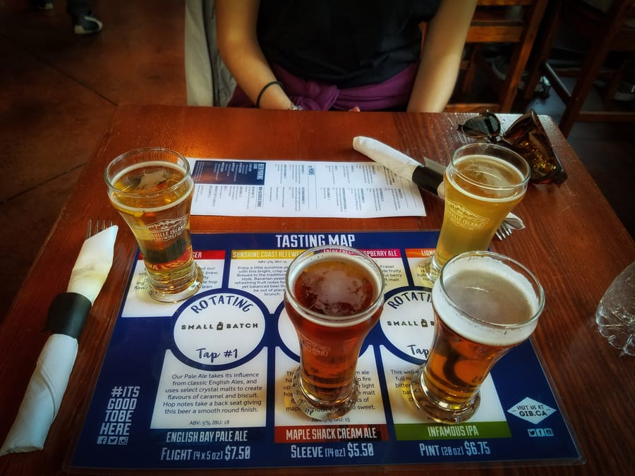 Granville Island Brewing, Vancouver one day trip