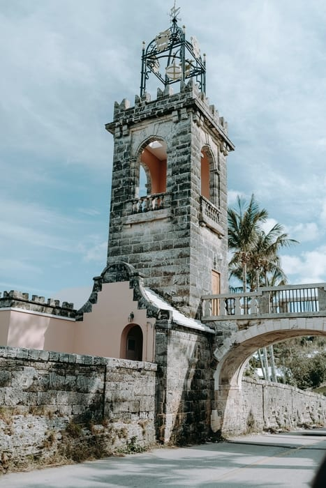 Landmarks in Bermuda countries allowed to travel
