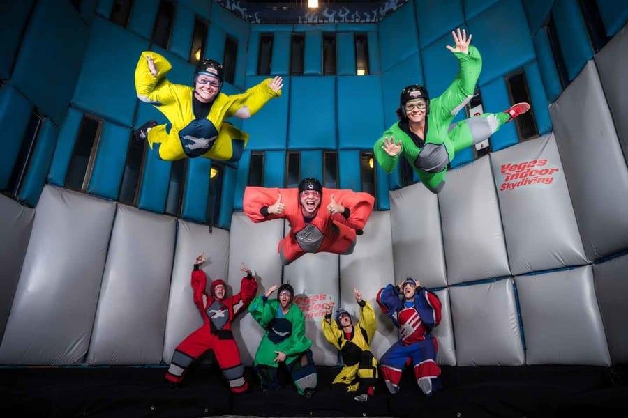 Indoor skydiving, things to do in Las Vegas for kids