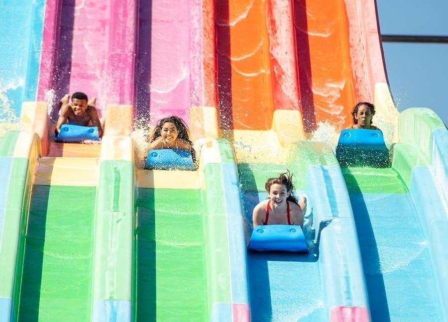 Wet'n'Wild waterpark, attractions in Las Vegas for kids