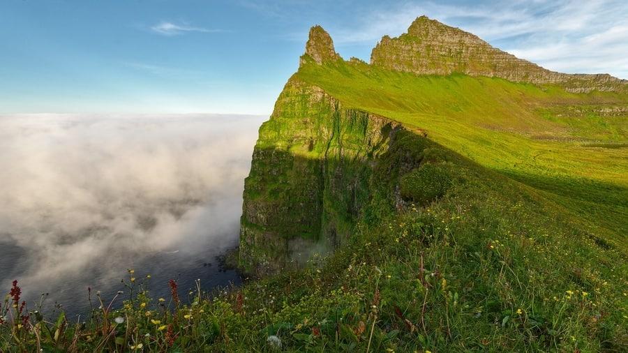 Hornstrandir Nature Reserve, hikes in Iceland