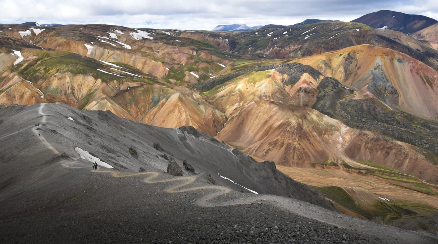 Brennisteinsalda-Bláhnúkur, Iceland hiking maps