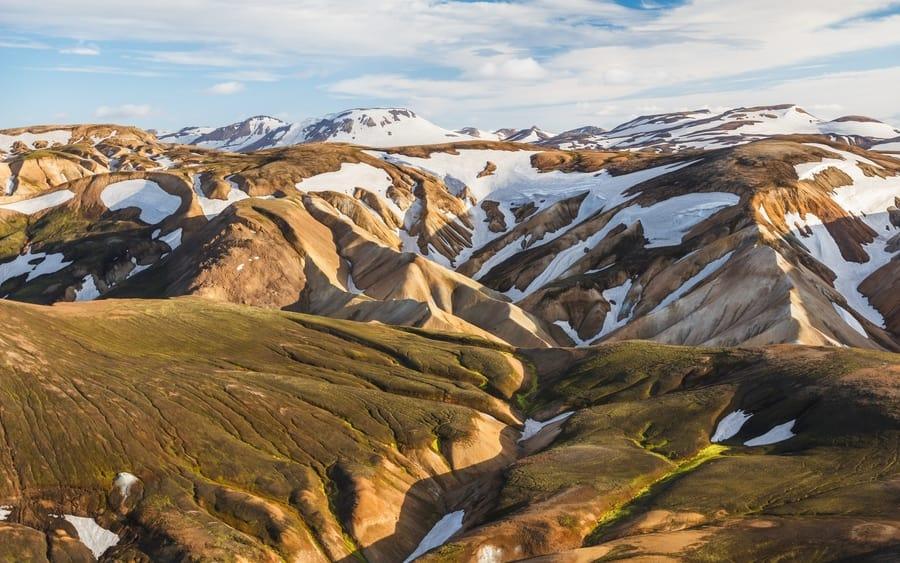 Laugavegur, hiking in Iceland