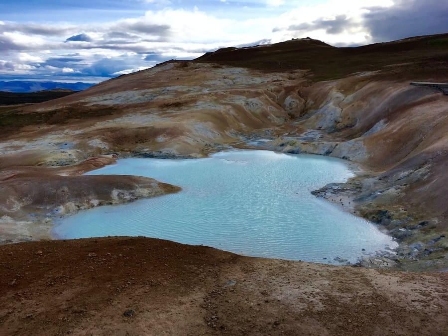 Leirhnjúkur Lava Field, best hiking trails in Iceland