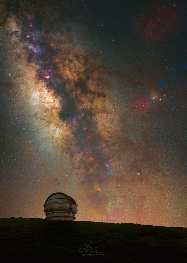 La Palma Spain astrophotography