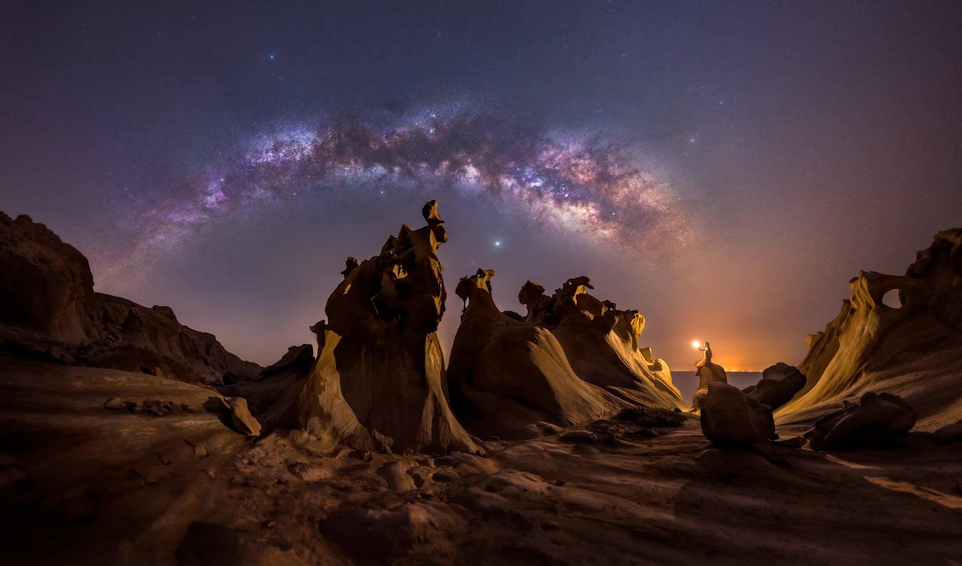 Best Milky Way photographs Capture the Atlas