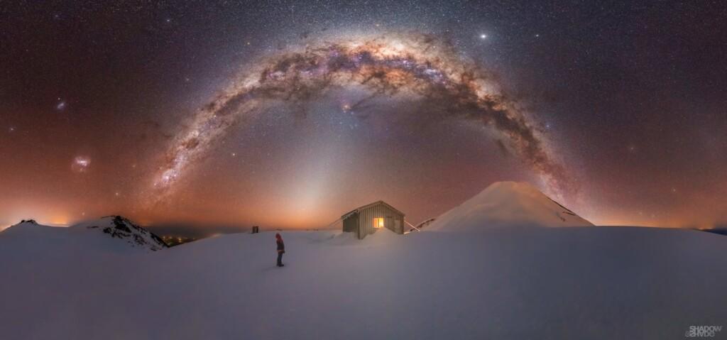 """""""Mt. Taranaki Milky Way"""" – Larryn Rae"""