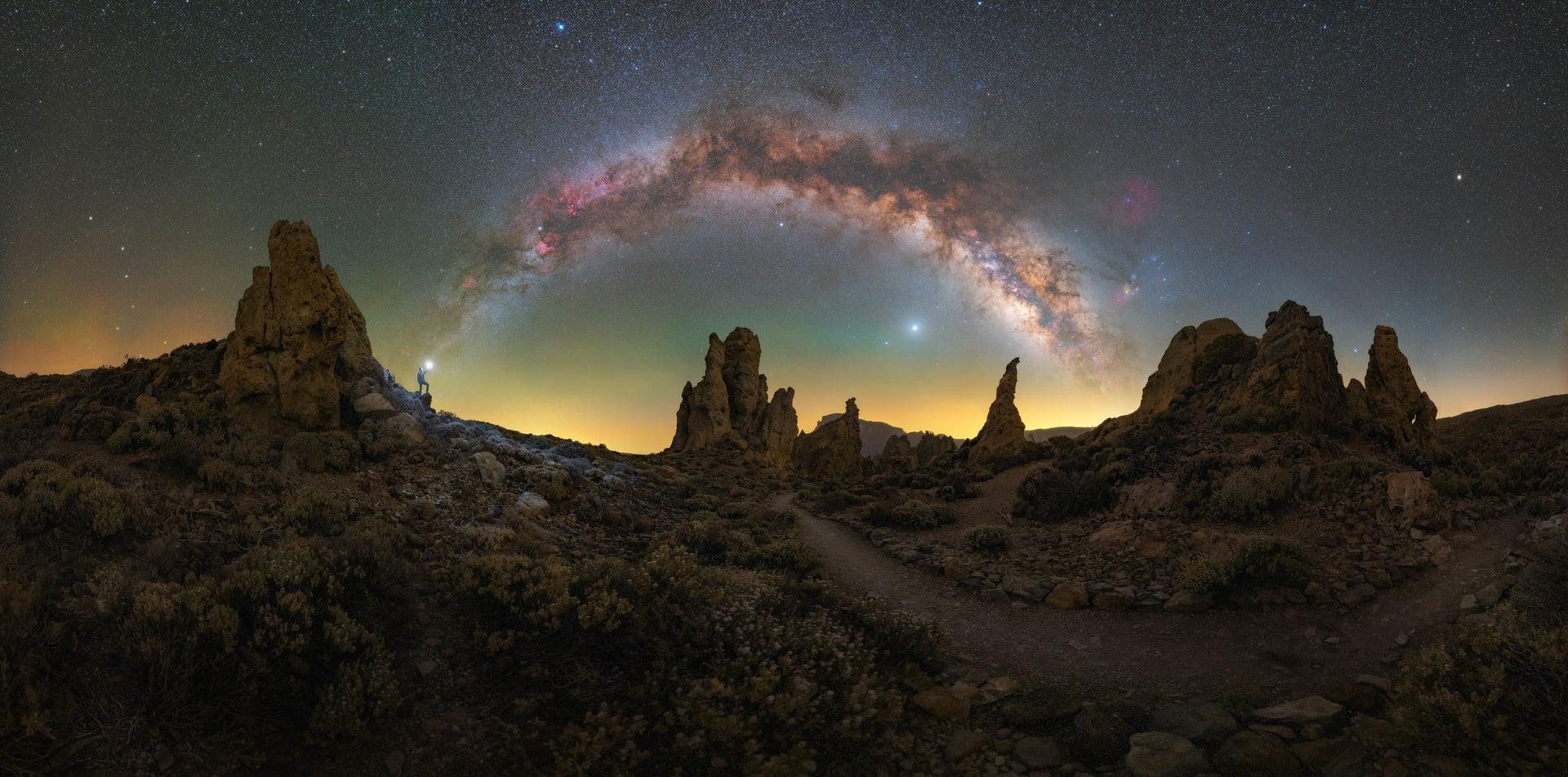 Best Milky Way photos Spain