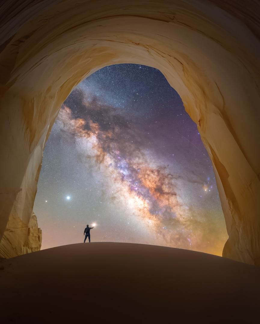 Milky Way photographer of the year Capture the atlas