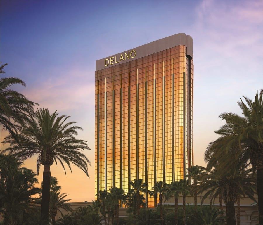 Delano Las Vegas, luxury hotel rooms at Las Vegas