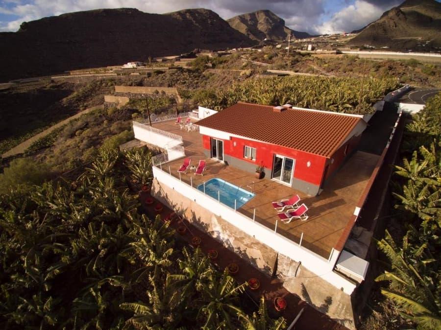 Finca Los Frontones, casas rurales en Tenerife que admiten mascotas