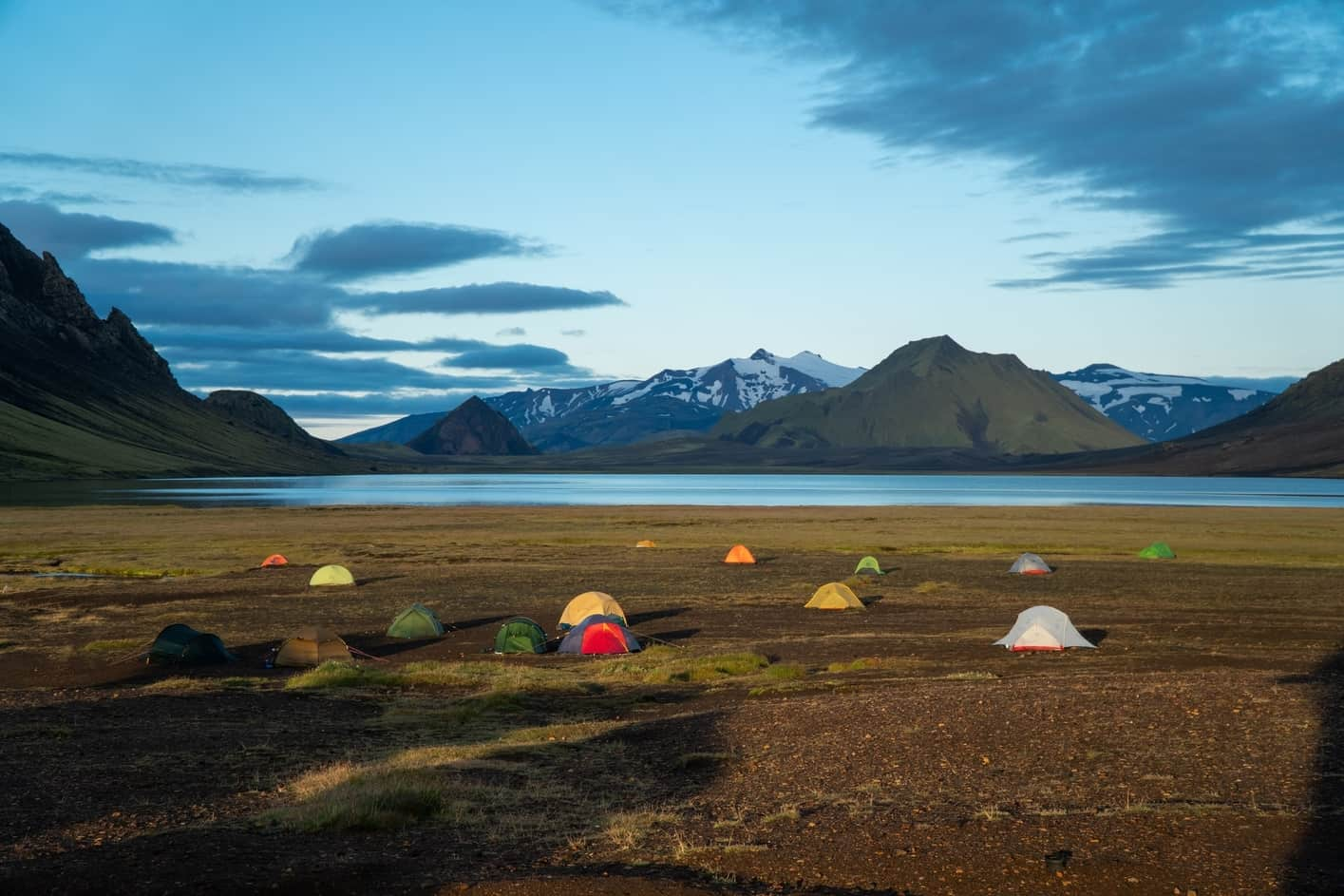 Campsites Iceland locations
