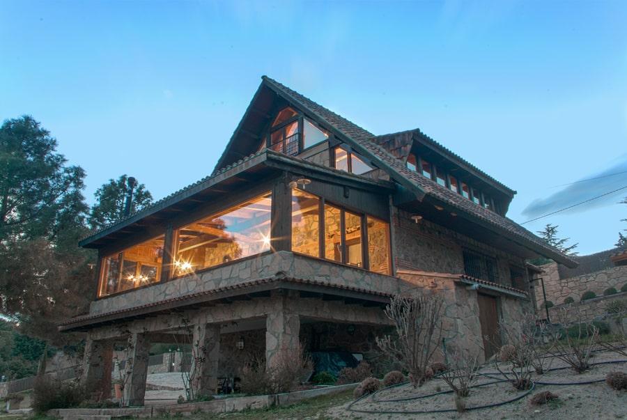 Saint Bernard, casa rural Sierra Madrid romántica