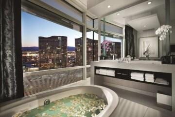 Aria Resort & Casino Vegas jacuzzi suite