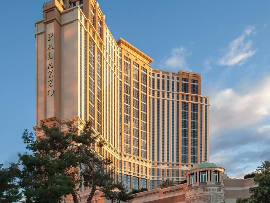 The Palazzo, luxury hotel in Las Vegas Strip