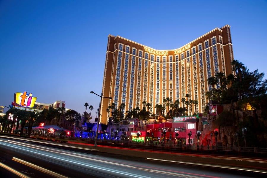 Treasure Island, kid-friendly hotel in Las Vegas