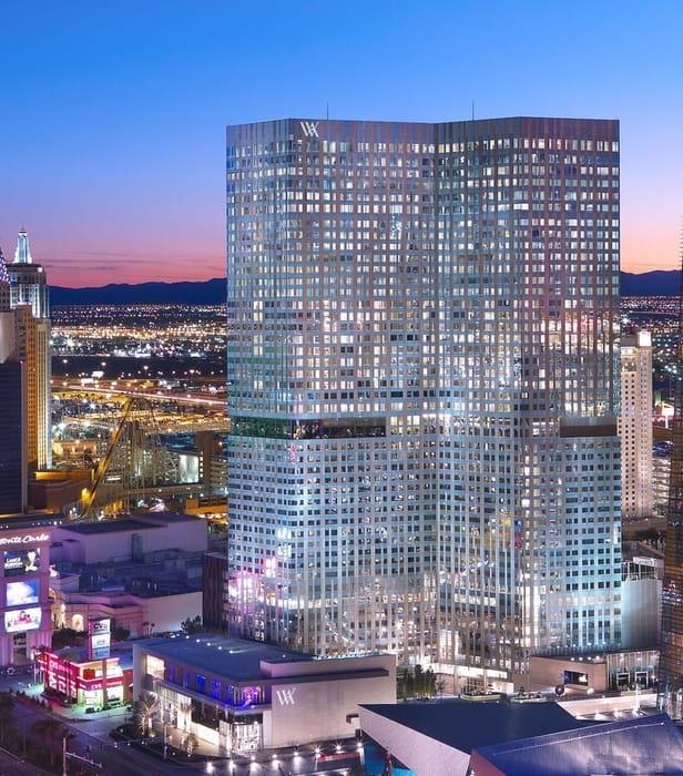 Waldorf Astoria, luxury hotel in Las Vegas, USA