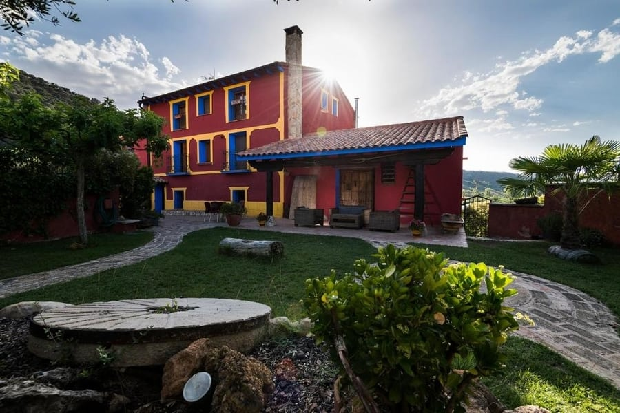 Valle del Río Piedra, casa rural en España para familias