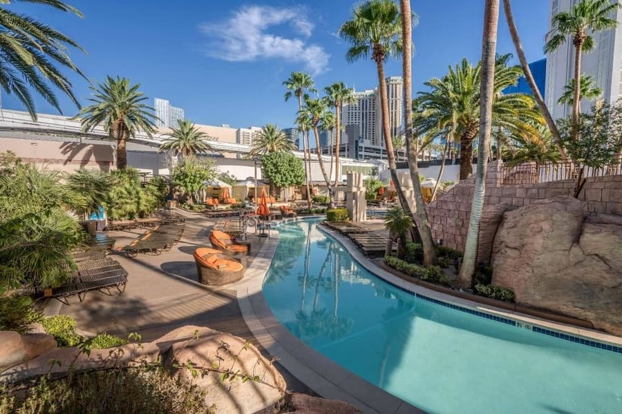 Grand Pool Complex at MGM Grand, hotels with the best pools in las vegas
