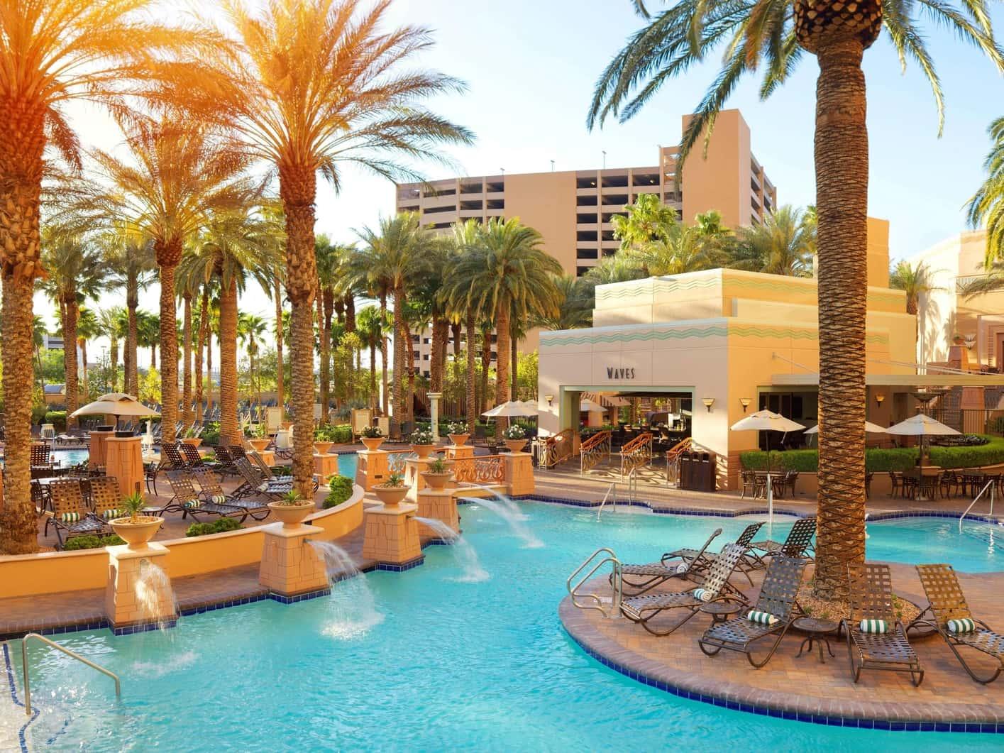 Hilton Grand Vacations Suites, kid-friendly hotel in Las Vegas