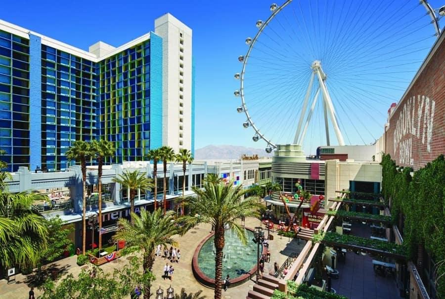 The LINQ Hotel, discount Las Vegas hotel