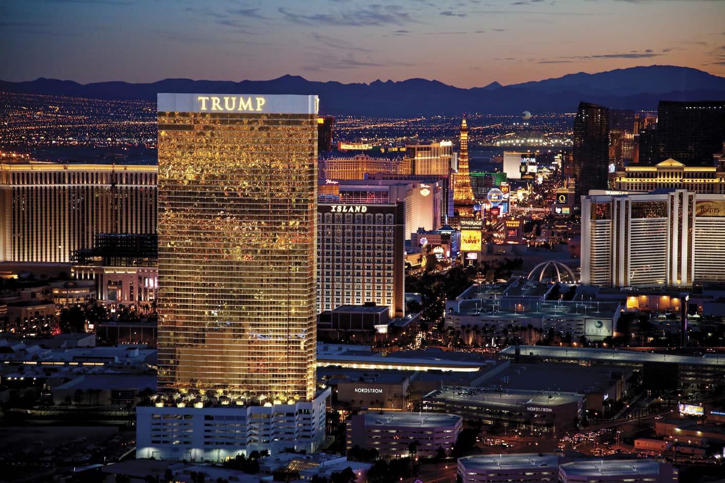 Trump International Hotel, Las Vegas' top 10 luxury hotels
