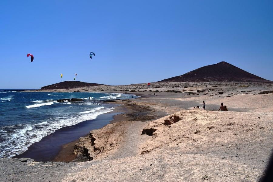 El Médano Beach, most beautiful beaches in tenerife