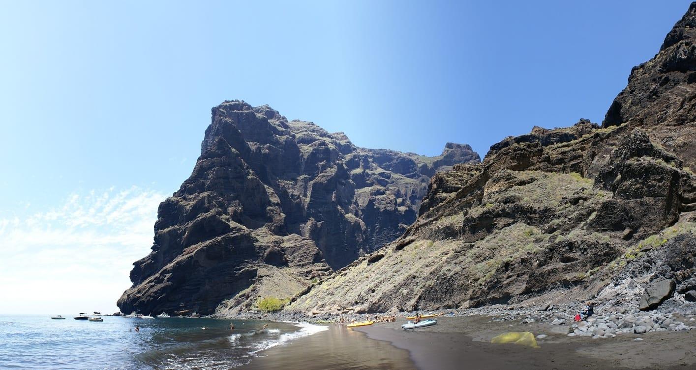 Masca Beach, best beaches in tenerife for families