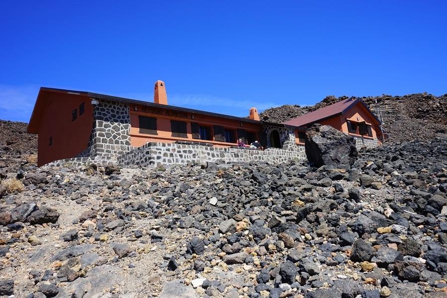 Altavista Refuge, teide mountain