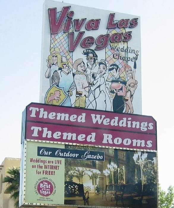 Viva Las Vegas Wedding Chapel, wedding chapel las vegas