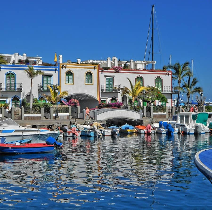 Puerto de Mogán, tourist attractions in gran canaria