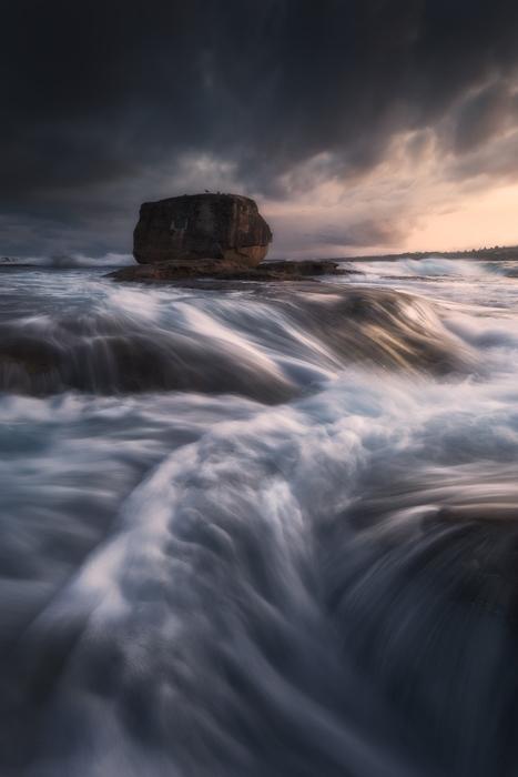 rocky seascapes