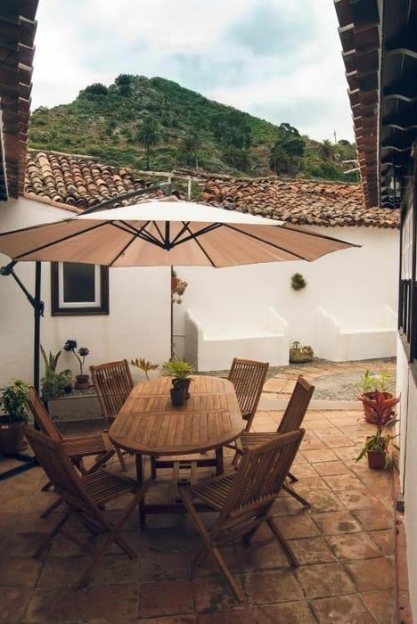 El Palmar, casas rurales de la gomera