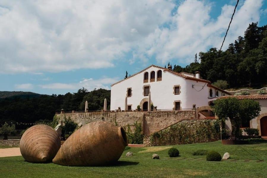 Masia Can Colomer, casas rurales en barcelona con piscina