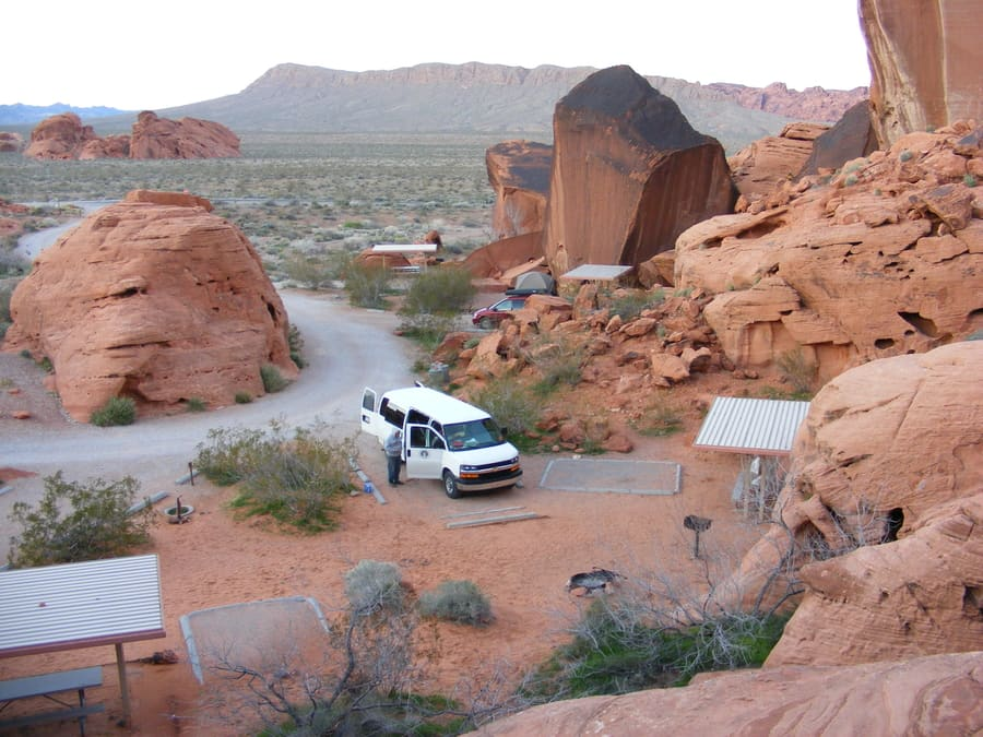 Arch Rock Campground, campgrounds near Las Vegas, NV