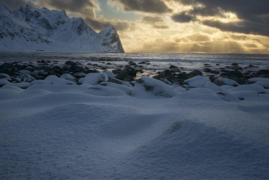 Arctic seascape photography