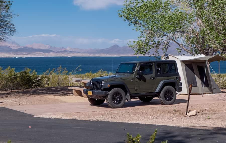 Boulder Beach Campground, places to camp near Las Vegas