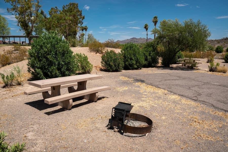 Calville Bay Campground, campgrounds near Las Vegas, NV