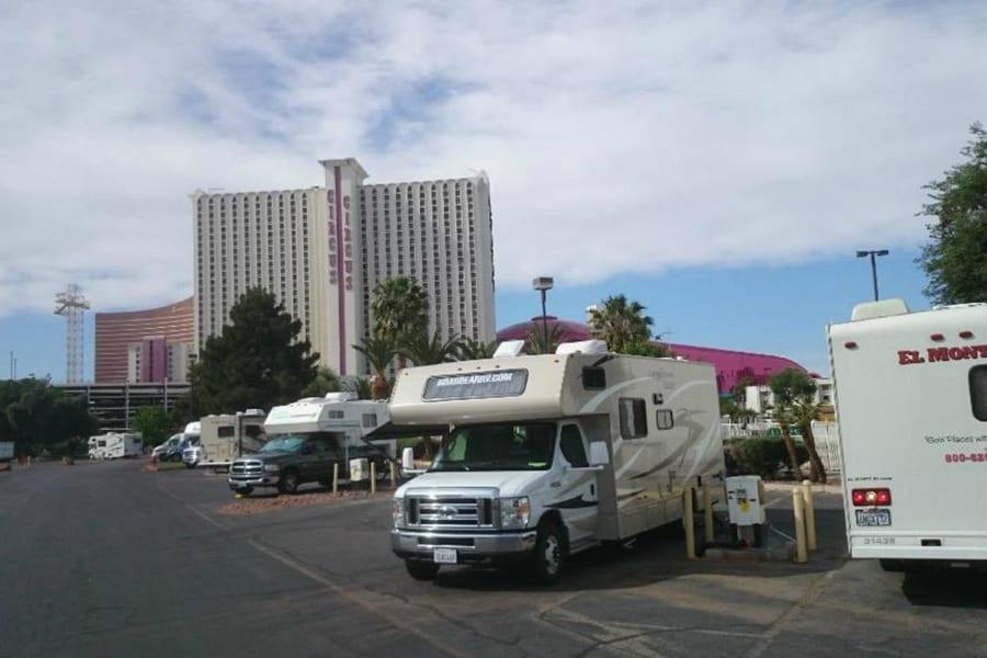 Circus Circus RV Park, RV campgrounds in Las Vegas