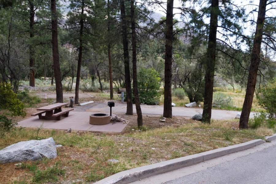 Fletcher View Campground, place to camp near Las Vegas