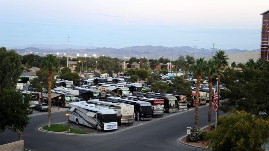 KOA at Sam's Town, cheap Las Vegas RV park