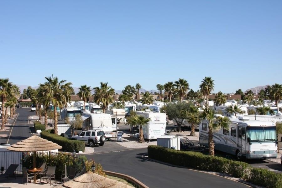 Las Vegas RV Resort, RV camping in Las Vegas