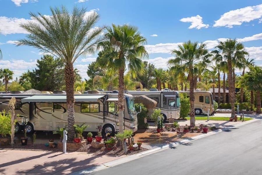 Las Vegas Motorcoach Resort, best Las Vegas RV parks