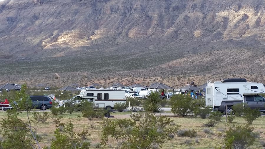 Red Rock Canyon Campground, camping in Las Vegas