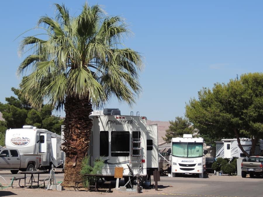 Thousand Trails Las Vegas RV Resort, best Las Vegas RV parks